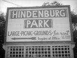 Hindenburg Park directional sign, La Crescenta