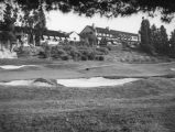 Annandale Country Club, clubhouse and sand traps, Pasadena