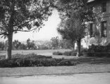 Fowler Hall and field at Occidental College