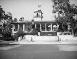 Orr Hall fountain, Occidental College