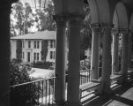 Swan Hall from the Robert Freeman Memorial Union, Occidental College