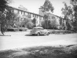 Parking by Orr Hall, Occidental College