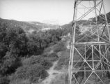 Power lines and Eagle Rock Substation