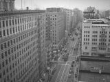 View of Seventh Street from the Barker Brothers Building