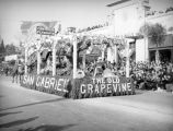 San Gabriel float at the 1939 Rose Parade