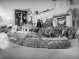 Eagle Rock float at the 1939 Rose Parade