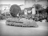 USC float at the 1939 Rose Parade