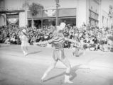 Baton twirlers at the 1939 Rose Parade
