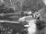 Gathering on the banks of the Rainbow Angling Club in Azusa