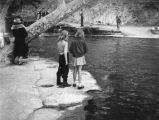 Children at the Rainbow Angling Club in Azusa