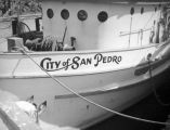 City of San Pedro boat at Terminal Island