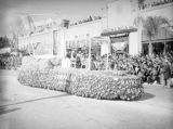 Hotel del Coronado float at the 1939 Rose Parade