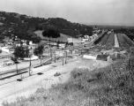 Cahuenga Freeway at Lankershim Boulevard, Studio City