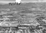 Aerial view of the San Fernando Valley