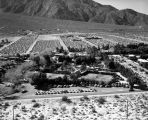 Racquet Club of Palm Springs, looking west, Indian Canyon Drive