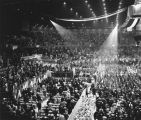 Democratic National Convention floor, Kennedy nomination