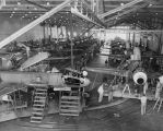 T-33 assembly line at Lockheed Aircraft in Van Nuys, Calif.