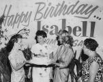 Valley Times columnist Isabell Nelson's birthday party