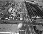 Slauson and Eastern Avenue, Commerce, looking east