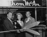 Opening of Thom McAn shoe store