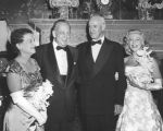 Omar Bradley, his wife, Russell Quisenberry and Laura Lee Payne