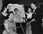 Unveil Encino woman's portrait