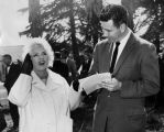 Mae West visits Valley soil break