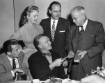 "James Cagney's ""Launching Luncheon"""