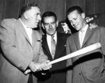 Bendix bats for new Dodger home