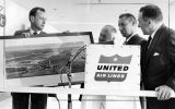 United opens first terminal in new airport