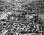 Neighborhoods, schools, and Civic Center, Huntington Park