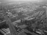 Walnut Grove Avenue and Grand Avenue, Rosemead, looking southeast