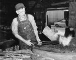 Blacksmith reaps benefits he overlooked at age 72