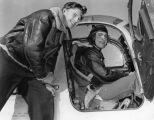 Bill Lear's pal joins him as 'hot' plane pilot
