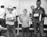 Newspaperboy anglers catch prizes