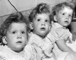 Wide-eyed Canoga Park triplets celebrate birthday