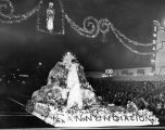 Leading float in pageant