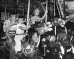 Merry-go-round horseback riding