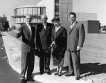 Van Nuys founder tours hospital