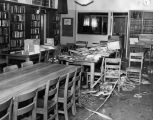 Vandals wreck library