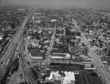 Marbrisa Avenue, Alameda Street and Santa Fe Avenue, Huntington Park, looking north