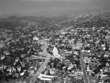 Sunset Strip, aerial view