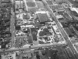 Slauson Avenue, State Street and Belgrave Avenue, Huntington Park, looking west