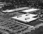 Aerial view of Librascope plant in Glendale