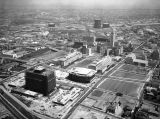 Civic Center neighborhood, Los Angeles, looking east
