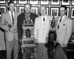 Winning golf team