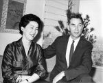 Ambassador Edwin Reischauer and wife, Haru