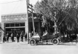 Burbank State Bank opening day, 1908
