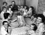 Woman to hear 'Happy Mother's Day' from 15 children!