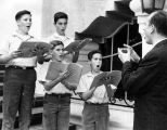 St. Charles Boys Choir rehearses for Ojai festival